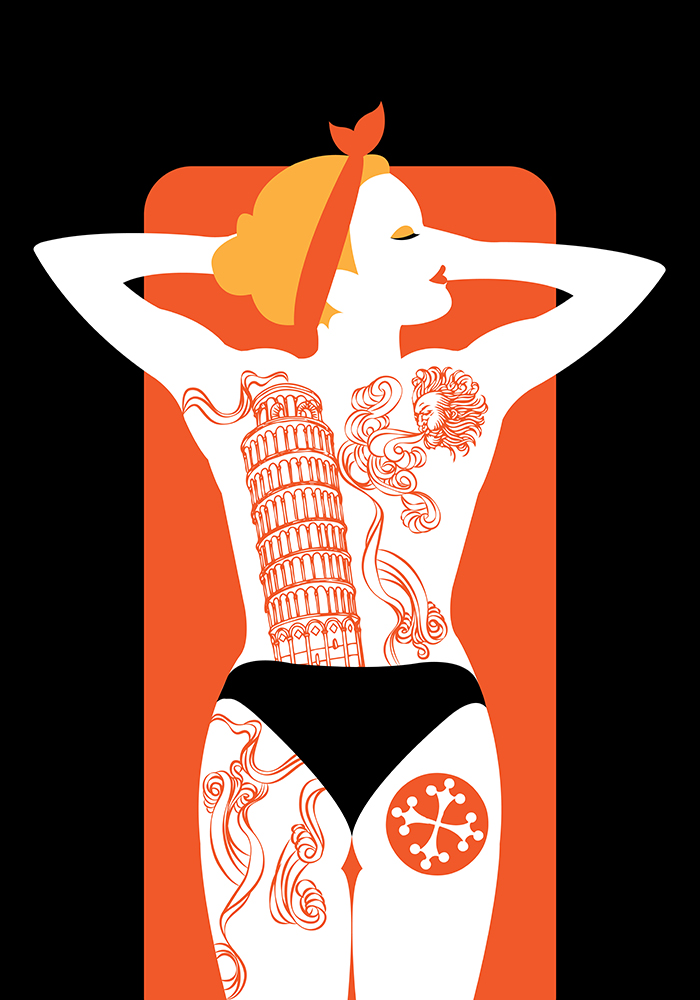 Pisa Tattoo convention Poster